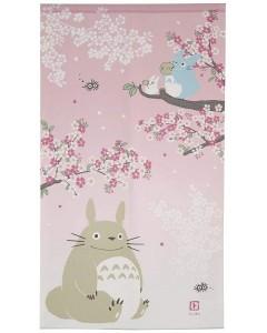 Mon voisin Totoro - Rideau japonais Sakura 150 x 85 cm