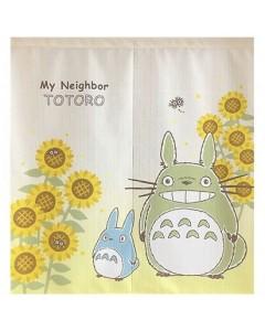 Mon voisin Totoro - Rideau japonais Tournesol 90 x 85 cm