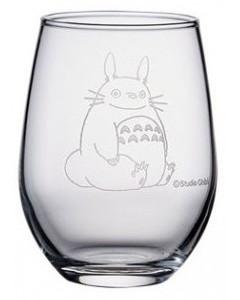 Mon voisin Totoro - Verre gravé Totoro & Trèfle