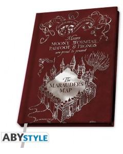 Harry Potter - Carnet A5 Marauder's Map