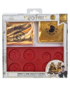 Harry Potter - Moule à Pièces de Banque Gringotts en chocolat