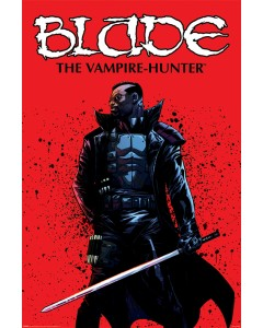 Marvel - Grand poster Blade The Vampire Hunter (61 x 91,5 cm)