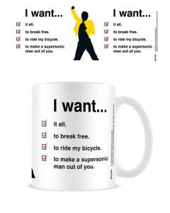 Queen - Mug I Want (checklist)