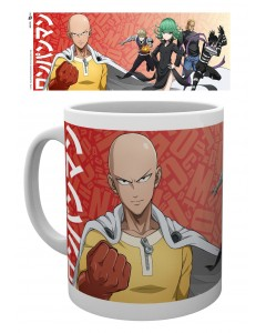One Punch Man - Mug Groupe