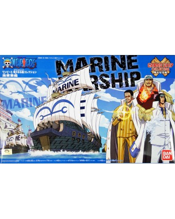 One Piece - Grandship Collection - Maquette Marine Warship
