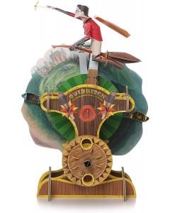 Harry Potter - Maquette carte mécanique Harry Quidditch