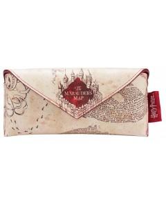 Harry Potter - étui à lunettes enveloppe Marauder's Map