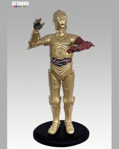 Star Wars - Attakus Elite - Statue C-3PO bras rouge (Episode VII)
