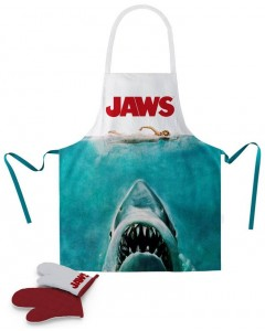 Jaws - Set Tablier + gant de cuisine