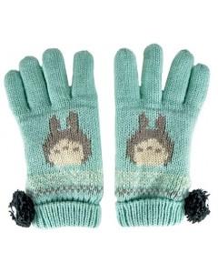 Mon Voisin Totoro - gants à pompons Noiraudes