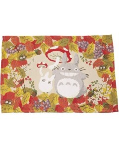 Mon voisin Totoro - Set de table tissu Totoro Champignons