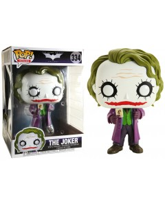 DC Comics - Pop! Dark Knight Trilogy - The Joker 25 cm n°334