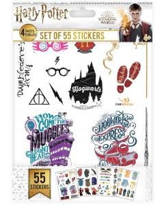 Harry Potter - Set de 55 stickers