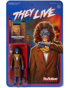 They Live (Invasion Los Angelas) - Reaction Figure - Female Ghoul 10 cm