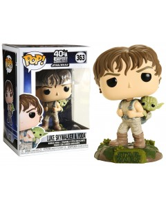 Star Wars - Pop! - Training Luke Skywalker & Yoda n°363