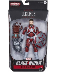 Marvel Legends - Crimson Dynamo - Red Guardian (Black Widow)