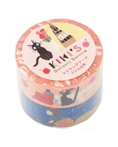 Kiki la petite Sorcière - Set de 2 rouleaux masking tape
