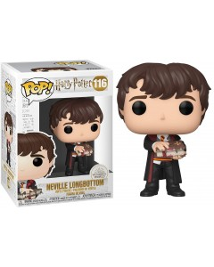 Harry Potter - Pop! - Neville Longbottom with Monster Book n°116