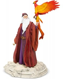 Harry Potter - Statue Year One : Professor Albus Dumbledore & Fawkes 29 cm