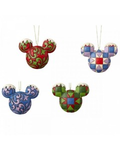 Disney - Traditions - Set ornements de sapin Mickey
