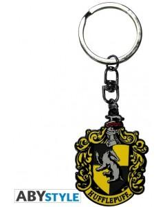 Harry Potter - Porte-clé métal Hufflepuff