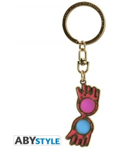 Harry Potter - Porte-clé métal Lunettes de Luna Lovegood