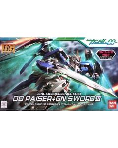 Gundam - HG 1/144 GN-0000+GNR-010 00 Raiser + GN Sword III