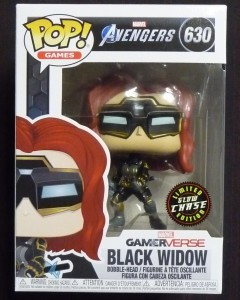 Marvel Gamerverse - Pop! Avengers - Black Widow CHASE n°630