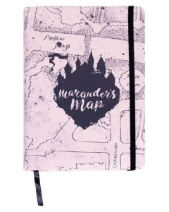 Harry Potter - Carnet A5 Marauder's Map