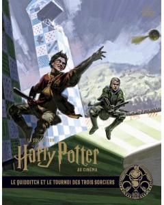 La collection Harry Potter au cinéma - Tome 7 : Le Quidditch et le tournoi des Trois Sorciers