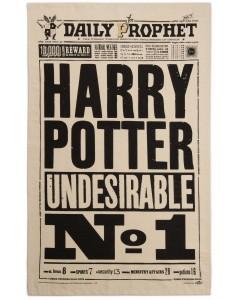 Harry Potter - Serviette torchon Undesirable n°1