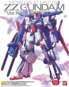 Gundam - MG 1/100 MSZ-010 ZZ Gundam Ver. KA