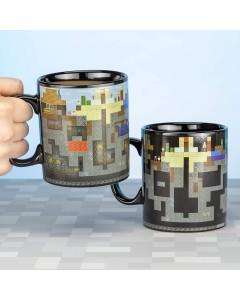 Minecraft - Mug Thermo-réactif 550 ml