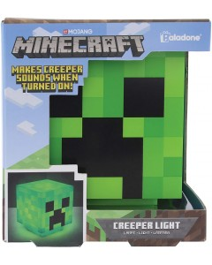 Minecraft - Lampe veilleuse sonore Creeper