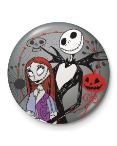 Nightmare Before Christmas - badge Jack & Sally