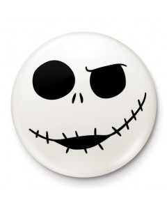 Nightmare Before Christmas - badge Jack Skellington