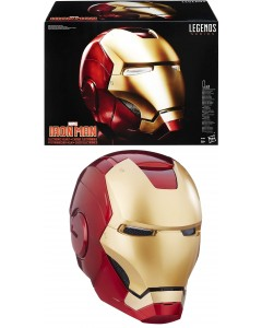 Marvel Legends - Réplique casque électronique Iron Man