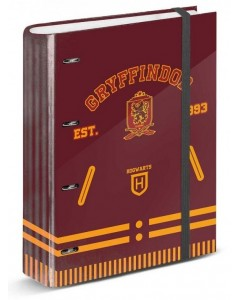 Harry Potter - Classeur A4 Gryffindor + intercalaires