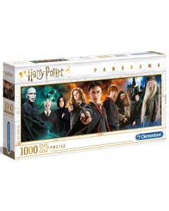 Harry Potter - Puzzle 1000 pièces Panorama Personnages