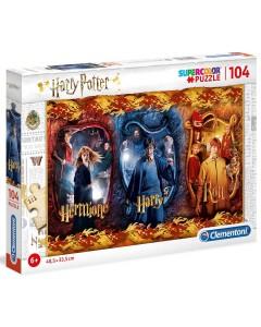 Harry Potter - Puzzle 104 pièces Harry, Ron Weasley et Hermione Granger