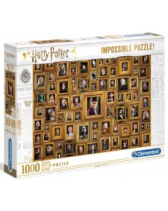 Harry Potter - Puzzle Impossible Portraits 1000 pièces