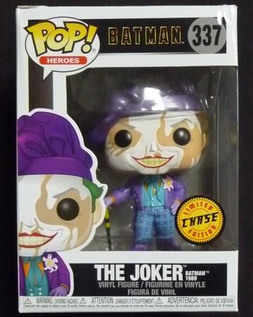 DC Comics - Pop! - The Joker CHASE Batman 1989 n°337 BOITE ABIMEE VOIR PHOTOS