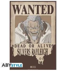 One Piece - poster Wanted Rayleigh