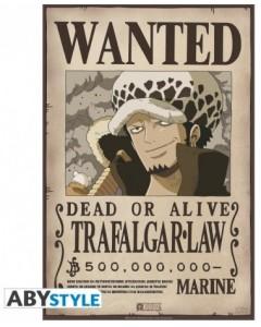 One Piece - poster Wanted Trafalgar Law