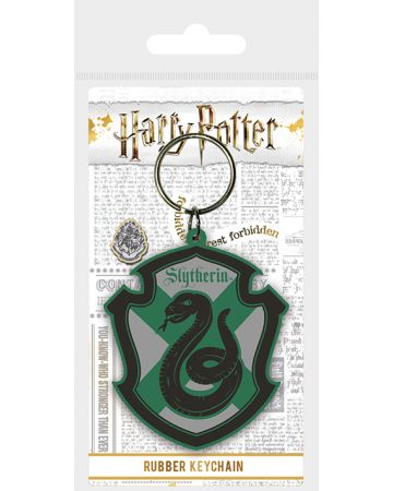 Harry Potter - Porte-clé en PVC Slytherin V2