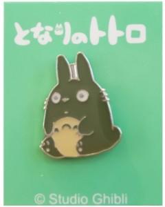Mon Voisin Totoro - Pins Totoro gris assis