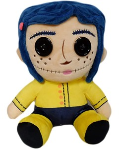 Coraline - Peluche phunny Coraline Button Eyes 18 cm