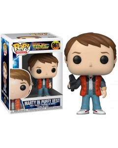 Retour vers le Futur - Pop! - Marty McFly in Puffy Vest n°961