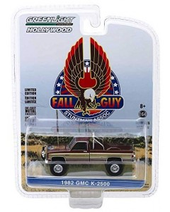 Fall Guy - 1/64 1982 GMC K-2500 Stuntman Association