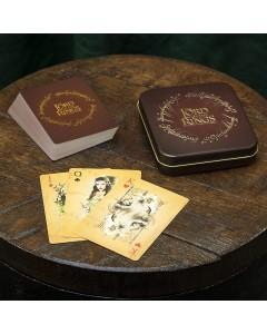 Lord of the Rings - Jeu de cartes en boîte métallique